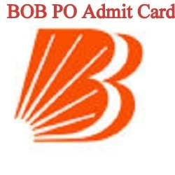 BOB PO Admit Card 2021