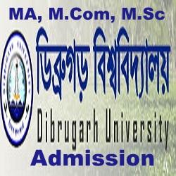 Dibrugarh Univ PG Admission