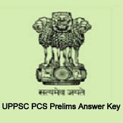 UPPSC PCS Prelims Answer Key 2021