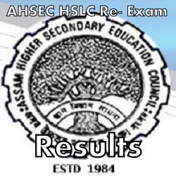 Assam HSLC Re-Exam Results