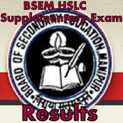 BSEM HSLC Supply Results