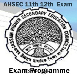 Assam HS Exam Time Table
