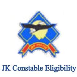 JK Constable Eligibility