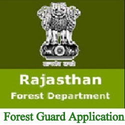 Rajasthan Forest Guard Application 2022