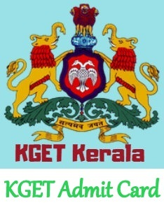 KGET Admit Card