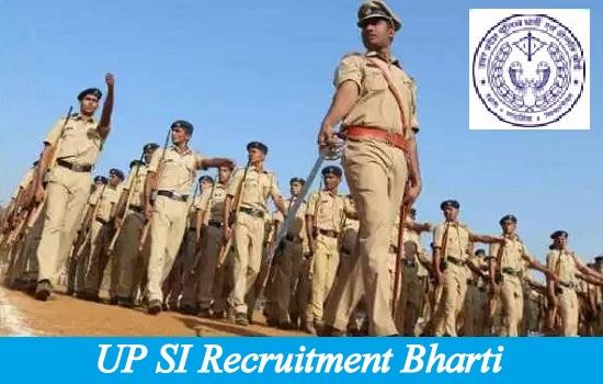 UP SI Recruitment Bharti