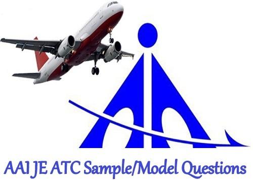 AAI JE ATC Sample Model Questions 2021