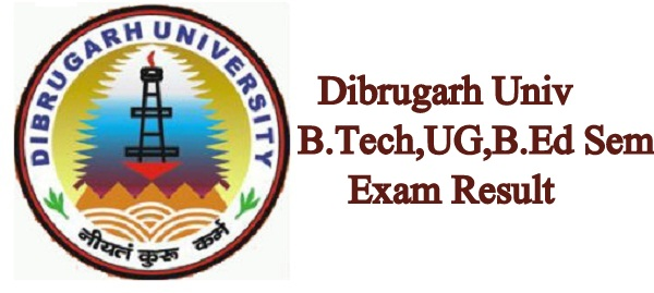 Dibrugarh University Result 2019