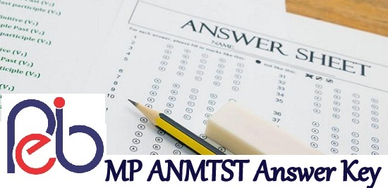 MP ANMTST Answer Key 2021