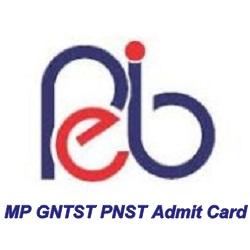 MP GNTST PNST Admit Card 2019