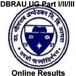DBRAU BA B.Sc B.Com Result