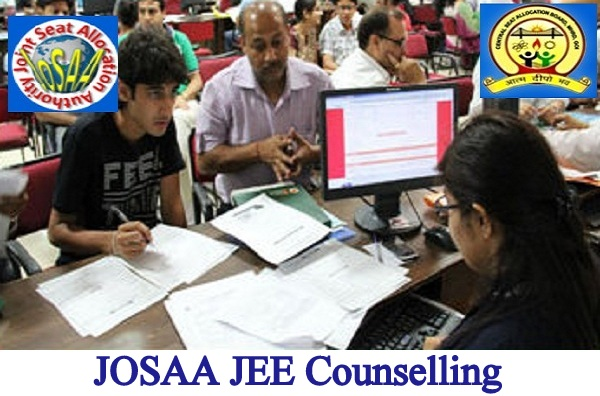 JOSAA JEE Counselling