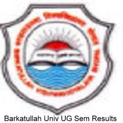 Barkatullah University Result 2019