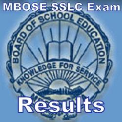 MBOSE SSLC Results