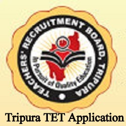 Tripura TET Online Application 2021