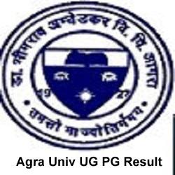 Agra Univ UG PG Result