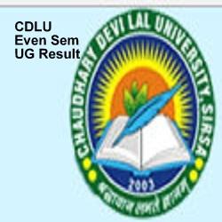 CDLU Even Sem UG Result