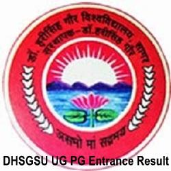 DHSGSU UG PG Entrance Test Results