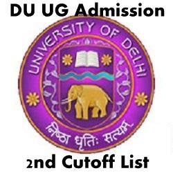 DU 2nd Cut Off List 2020