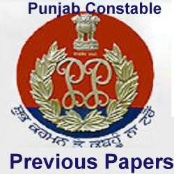 Punjab Constable (M&F) Previous Papers