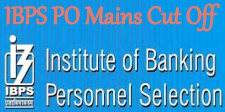 IBPS PO Mains Cut Off