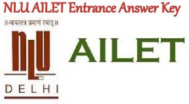 NLU AILET Entrance Answer Key