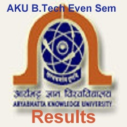 AKU B.Tech Result 2020