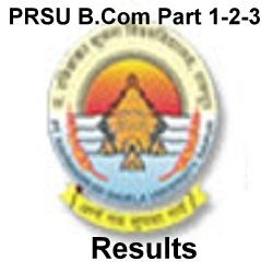 PRSU BCOM Result 2021