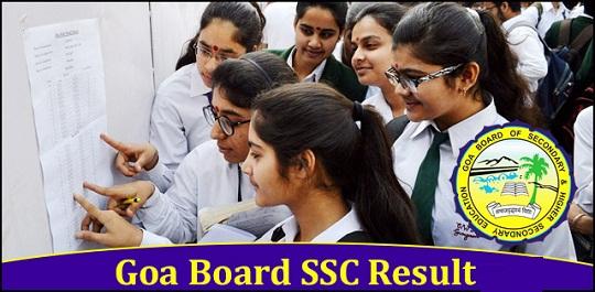 Goa-Board SSC Result