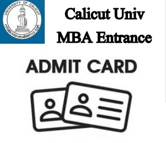 Calicut University MBA Hall Ticket 2019