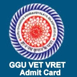 GGU Admit Card 2020