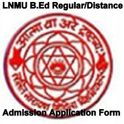 LNMU B.Ed Admission 2020