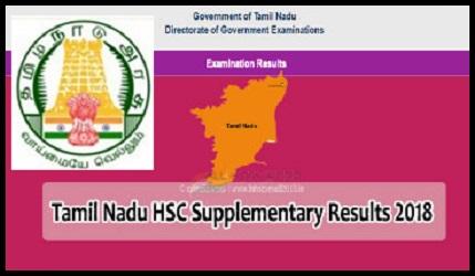TN 12th Supply Result