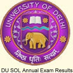 DU SOL BCOM Result 2020