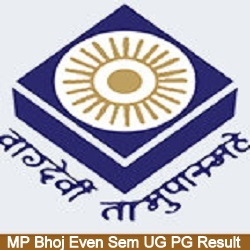 MP Bhoj BBA BCA 1st 2nd 3rd Year Result 2021