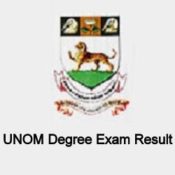 Madras University Results April 2019