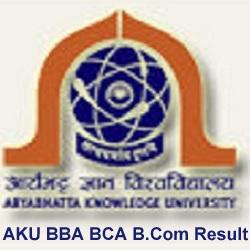 AKU BA BSC BBA BCA BCOM Result 2021