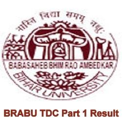 BRABU TDC Result