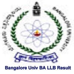 Bangalore University BA LLBResult 2021