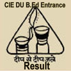 DU B.Ed Entrance Result 2021