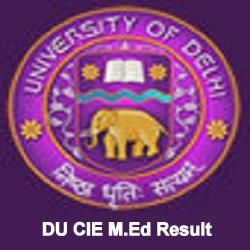 DU M.Ed Entrance Result 2021