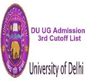 DU 3rd Cut off List 2021