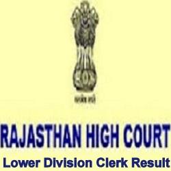 HC Raj LDC Result 2021