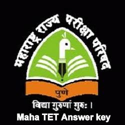 Maha TET Answer Key 2021
