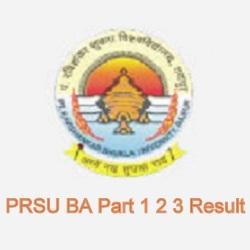 PRSU BA Result 2021