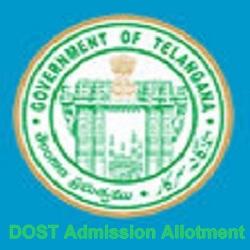 TS Degree Seat Allotment 2021