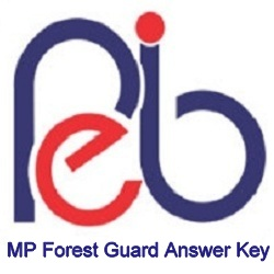 MP Forest Guard Answer Key