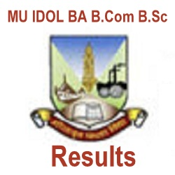 Mumbai University BA B.Sc B.Com IDOL Result