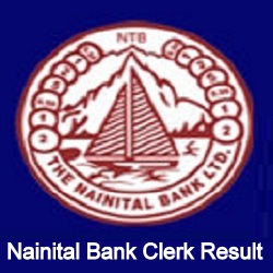 Nainital Bank Clerk Result 2021