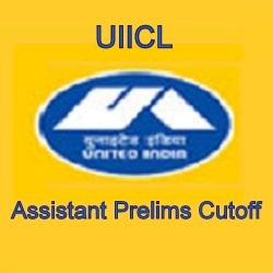 UIICL Assistant Prelims Cutoff